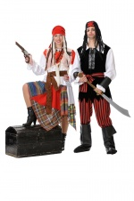 Corsair costumes for couples
