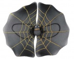 Spider web fabric wings