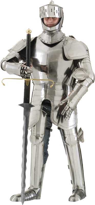 Articulated metal armor