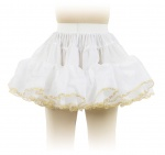 Petticoat with lace