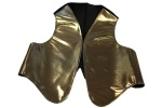 Golden adult vest