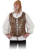 Chaleco medieval hombre MITTELALTE