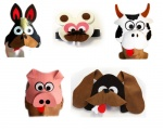 Animals headbands
