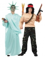 American costumes for couples CARNIVAL