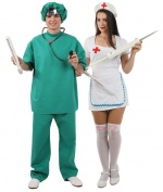 Doctors costumes for couples