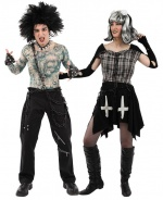 Gothic costumes for couples