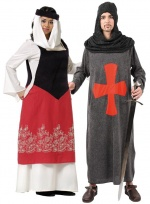 Medieval costumes for couples