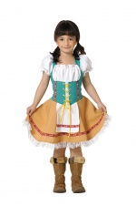Bavarian girls costume