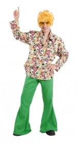 70s retro Man Adult Costume CARNIVAL