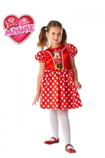 Classic Red Minnie Mouse Child Costume