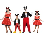 Disfraces de Mickey y Minnie GRUPPEN