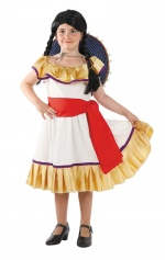 Mexican girl costume.