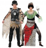 African costumes for couples CARNIVAL