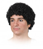 Curly or afro adult wig