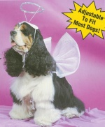 Angel costume for dogs and cats CARNIVAL