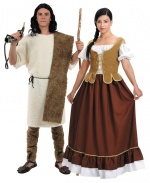 Medieval artisans costumes for couples