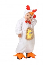 Chicken infant costume BABYS