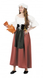 Chambermaid costume MEDIEVAL