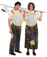 Crisis costumes for couples