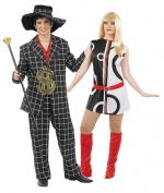 80's costumes for couples CARNIVAL