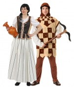 Medieval commoners costumes for couples