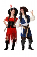 Caribbean Pirates costumes for couples