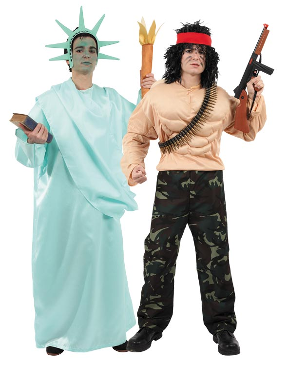 American costumes for couples