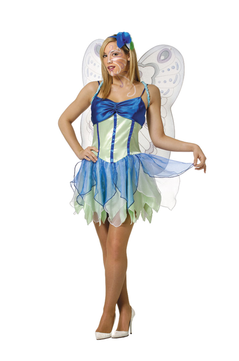 Nymph butterfly ladies costume