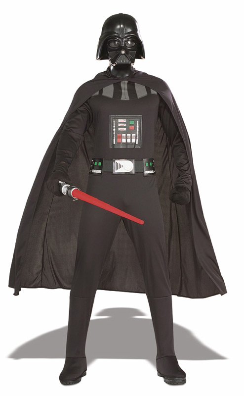 Darth Vader costume with sabre