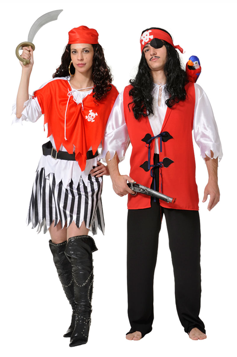 Buccaneers costumes for couples