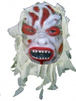 Devil mask with gauze
