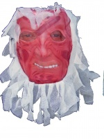 Freddy mask with gauze