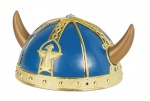 Viking blue helmet