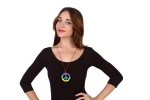 Collar hippie multicolor