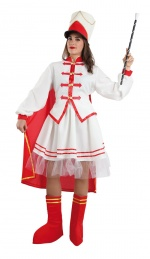 Majorette ladies costume