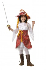 Musketeer girls costume