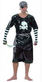 Ruthless Pirate Adult Costume