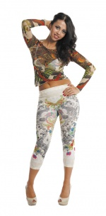 Tattoo Skin unisex Leggings