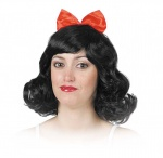 Girl wig with a loop