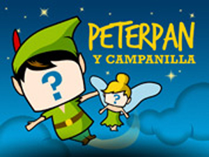 Cuento virtual de Peter Pan