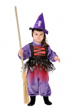 Witch infant costume