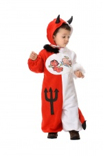 Angel- devil infant costum