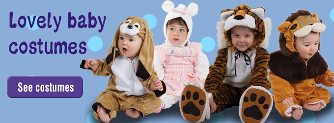 Baby costumes on Bacanal Costumes