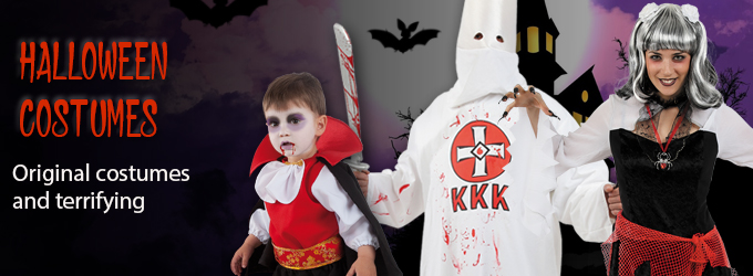 Halloween costumes on Bacanal costumes online